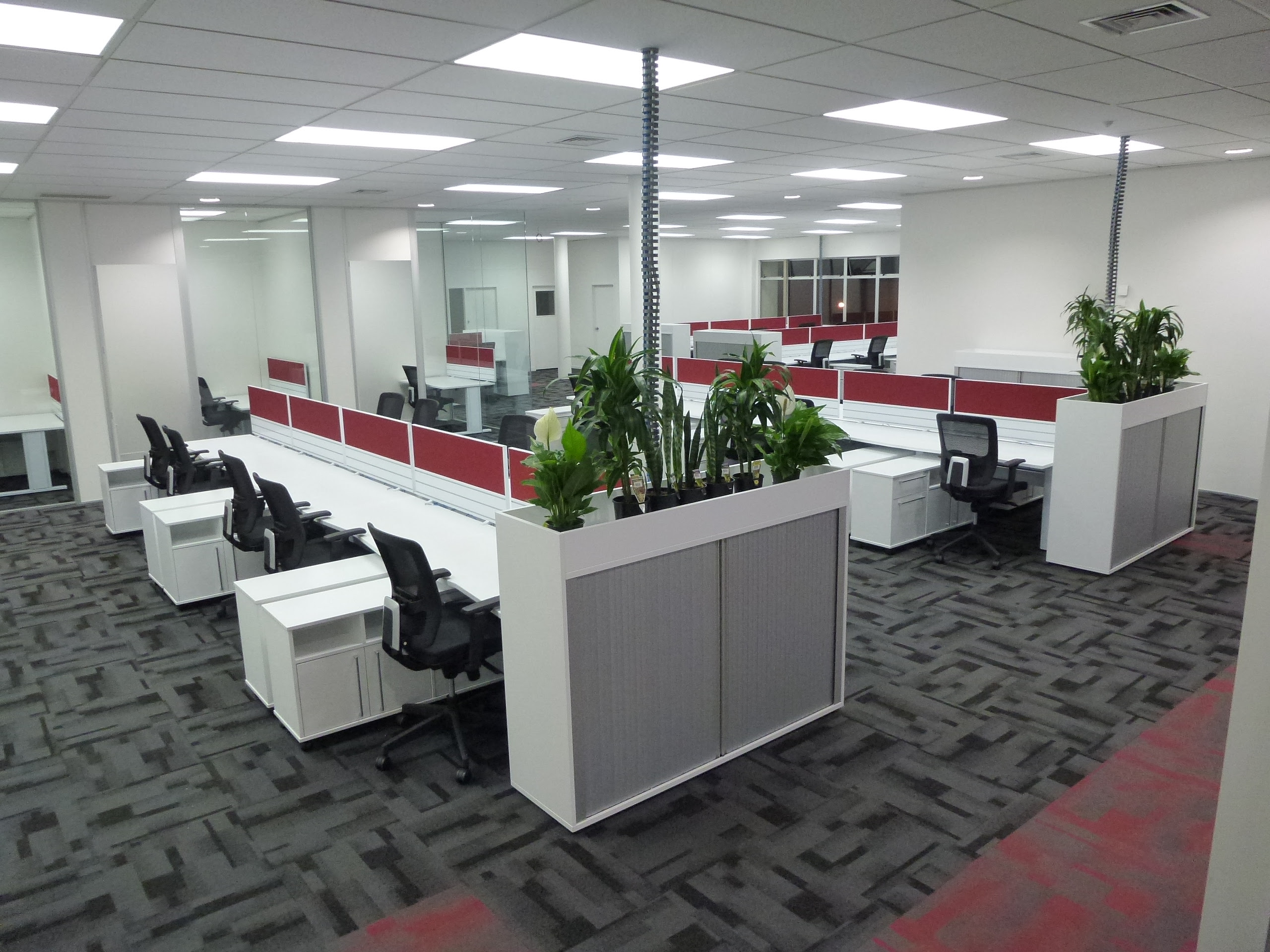 Nz commercial carpet tile wholesaler for Floor decoration ideas office