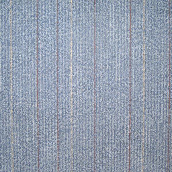 Light blue carpet tile